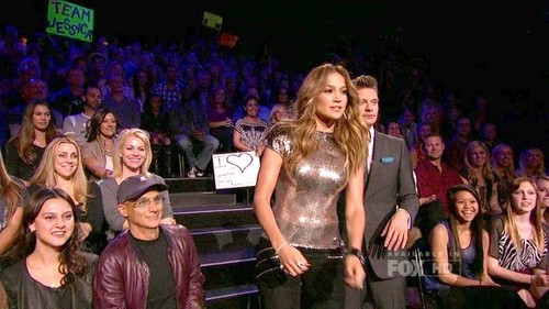 Jennifer Lopez wallpaper possibly with a concert called American Idol – Season 11, Episode 34