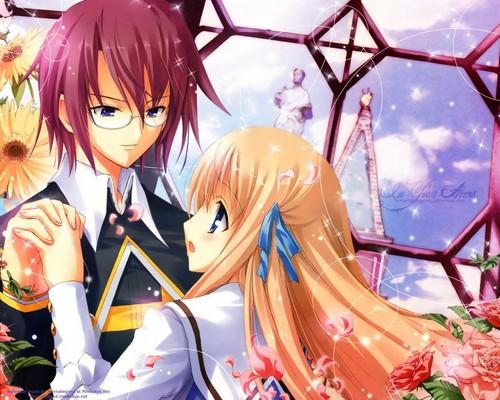 Anime boy + Girl
