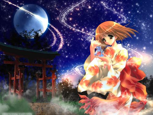 Anime Hintergrund