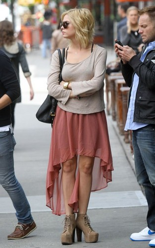 Ashley Benson out in New York City - pretty-little-liars-tv-show Photo