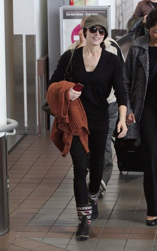 Ashley Greene at the Airport - 1 May 2012 - ashley-greene Photo