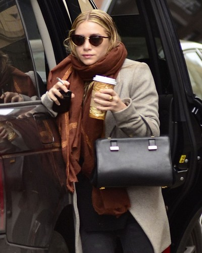 Ashley - Out and about in New York, December 17, 2011