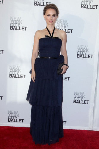 Attending the New York City Ballet&#39;s Spring Gala at David H. Koch Theater, Lincoln Center, NYC (May  - natalie-portman Photo