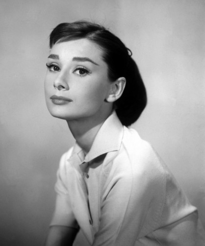 Classic Movies wallpaper possibly containing a business suit entitled Audrey