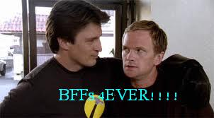 Dr. Horrible's Sing-A-Long Blog wallpaper entitled BFFs??