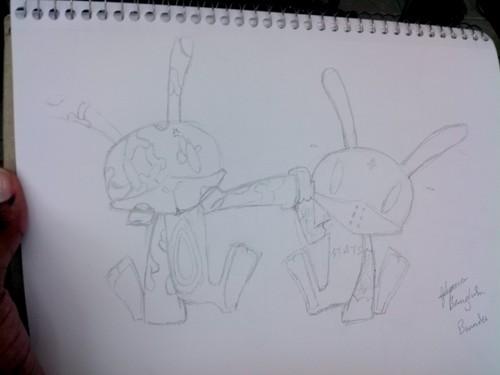 BangHim-bunny fanart