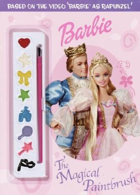 Barbie as Rapunzel book