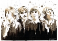 Beatles watercolour