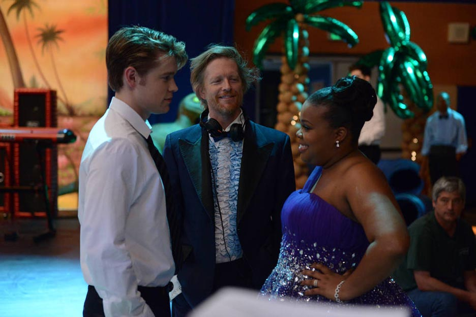 Behind the scenes Samcedes at prom