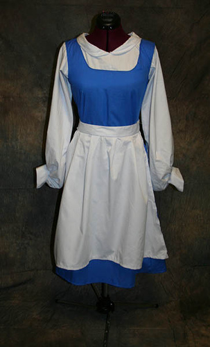Belle's Blue Dress