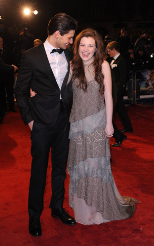 Ben Barnes and Georgie Henley