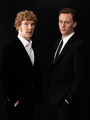 Benedict Cumberbatch &amp; Tom Hiddleston - benedict-cumberbatch photo