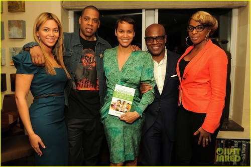 বেয়ন্স & Jay-Z: Erica Reid's Book Launch Party!