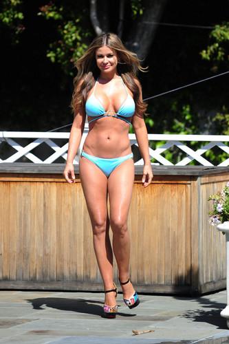 Bikini Candid Shoot In LA [7 May 2012]