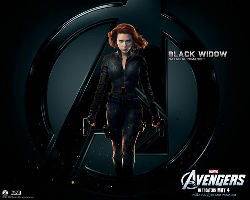 The Avengers wallpaper entitled Black Widow