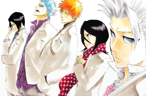 Free Anime Character Popularity Poll : Anime images bleach most popular characters hd wallpaper