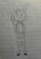 Blushing Fionna - adventure-time-with-fionna-and-cake fan art