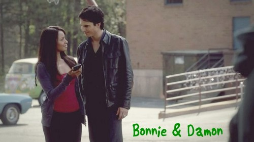 Bonnie and Damon 3x21 - damon-and-bonnie Photo