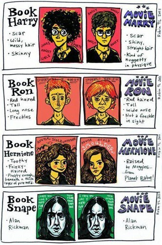 Book and movie characters