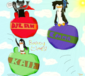 Bouncy time! :D - emma-the-penguin photo
