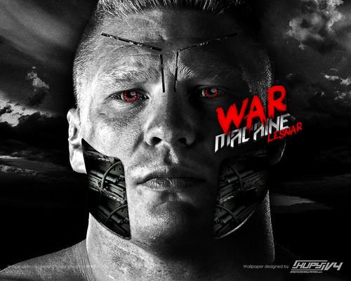 wwe wallpaper titled Brock Lesnar