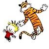 Calvin & Hobbes photo titled Calvin & Hobbes