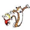 Calvin & Hobbes photo titled Calvin & Hobbes
