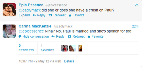 Carina Tweets Nian