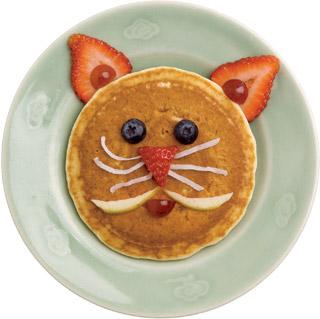 Cat Pancakes(: