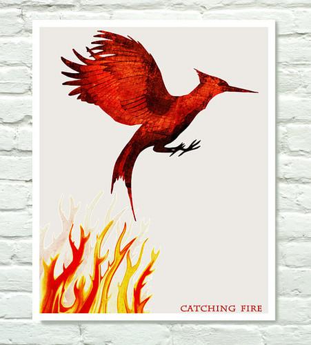 Catching огонь Fanart <3