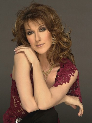 Celine Dion achtergrond possibly containing attractiveness, skin, and a portrait called Celine Dion
