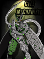 Cell Mechanized - dragon-ball-z fan art