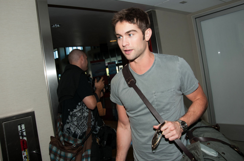 Chace - Departing LAX Airport - May 06, 2012 - chace-crawford Photo