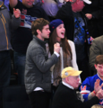 Chace - Pittsburgh Penguins vs New York Rangers Game - November 29, 2011 - chace-crawford photo