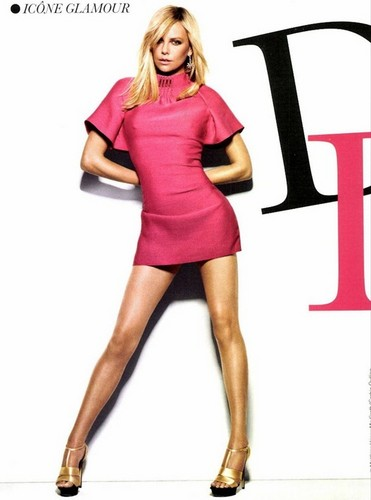 Charlize Theron for Glamour France Cover, March 2012