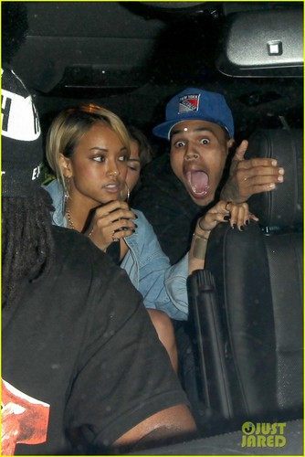 Chris Brown: Birthday Wish from Rihanna