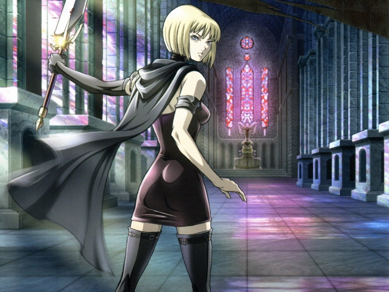 claymore images clarie wallpaper hd wallpaper and