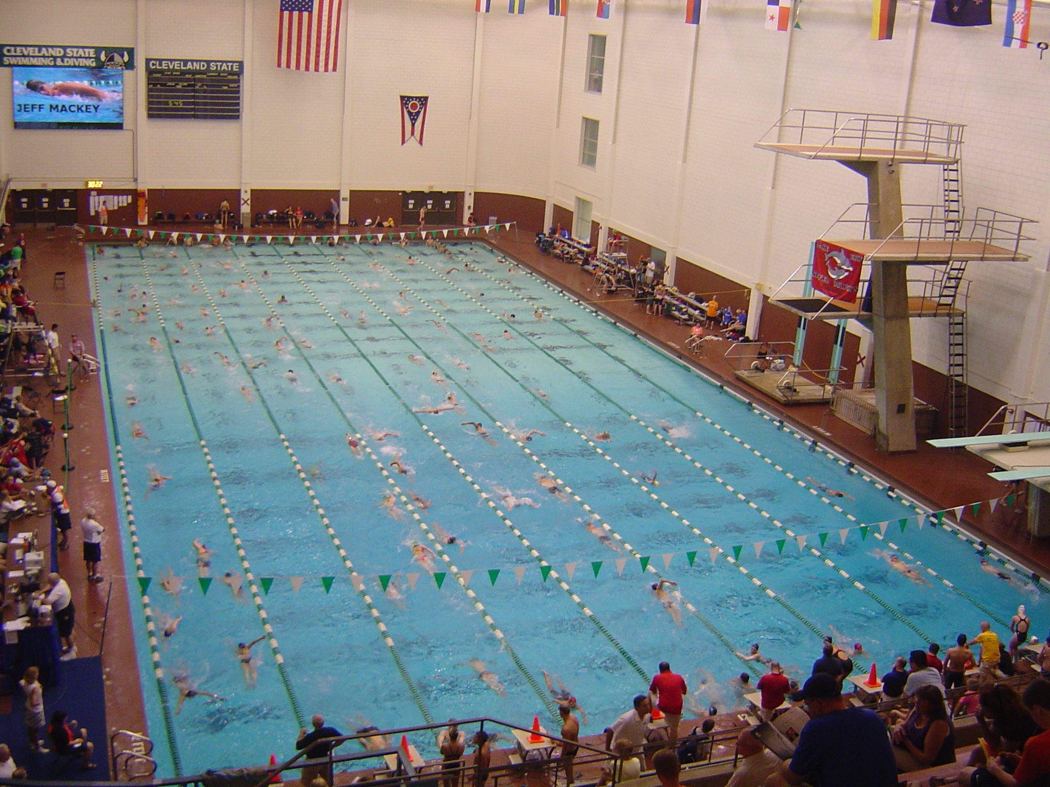 Cleveland State's really nice pool