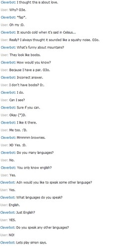 Cleverbot Part 3