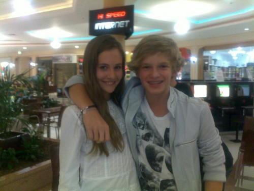 Cody Simpson and Abby keep