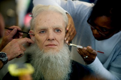 Colin morgan Emrys Make Up