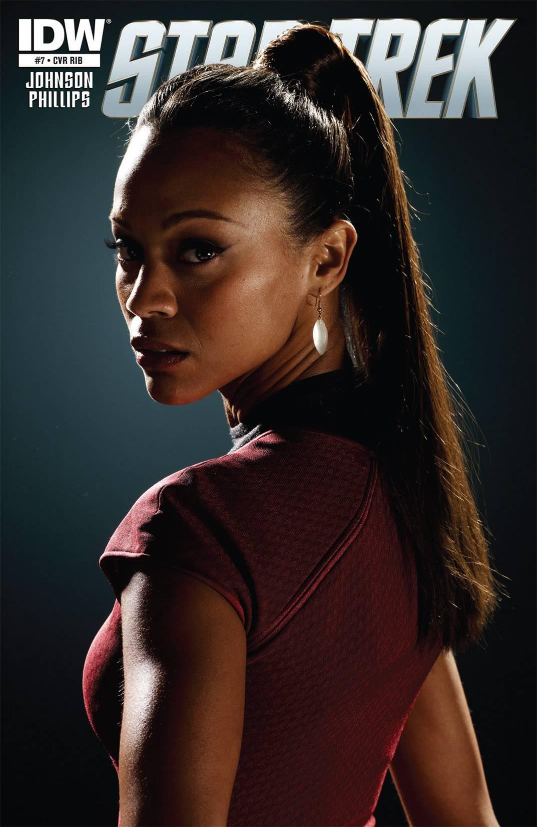 Cover For Etoile Star Trek Ongoing 7 Zoe Saldana As