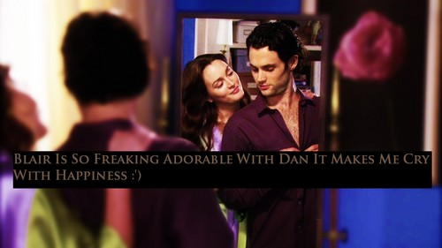 Dan and Blair wallpaper possibly containing a portrait called Dair Confession