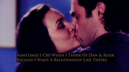 Dan and Blair wallpaper with a portrait called Dair Confession