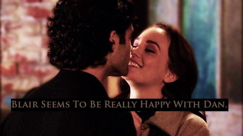 Dan and Blair wallpaper probably with a business suit, a concert, and a portrait entitled Dair Fandom Confession