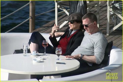 Daniel Craig & Rachel Weisz: Yacht Ride in Turkey