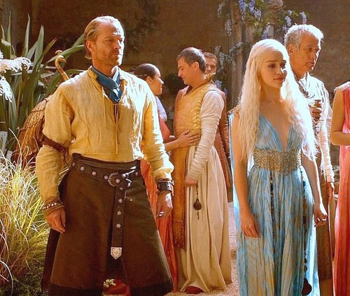 Dany and Jorah with Qartheen