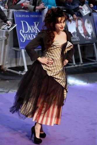Dark Shadows Лондон Premiere