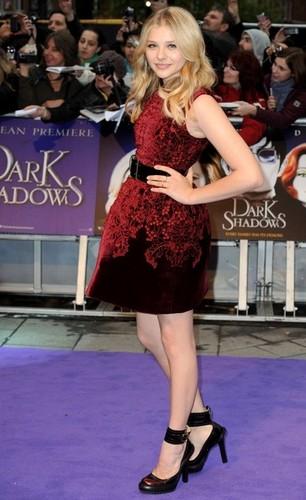 Dark Shadows UK Premiere