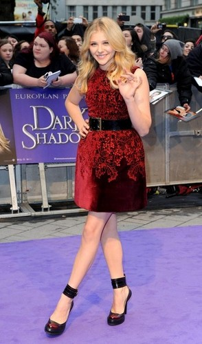 Dark Shadows UK Premiere